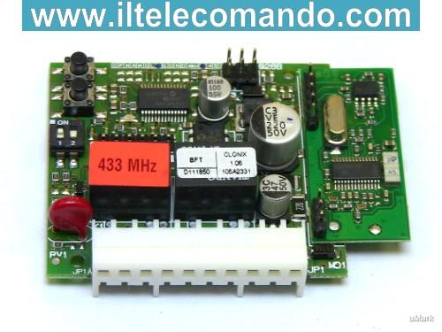 Prodotti in vendita riceventi radio bft for Scheda bft alcor 6